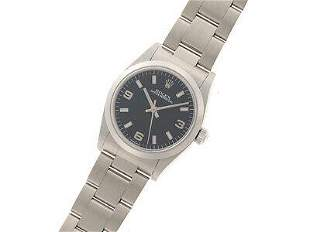 Authentic Rolex Oyster Perpetual 77080 Blue Dial
