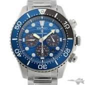 Authentic Seiko Prospex Chronograph Diver Solar SBDL059