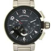 Authentic Louis Vuitton Tambour Chronograph GMT