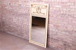 Neoclassical Style Wall Mirror by Metz Circa 1960s