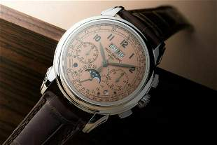 Authentic Patek Philippe Perpetual Calendar Chronograph