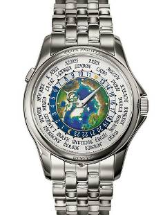 Authentic Patek Philippe Email Cloisonne World Time