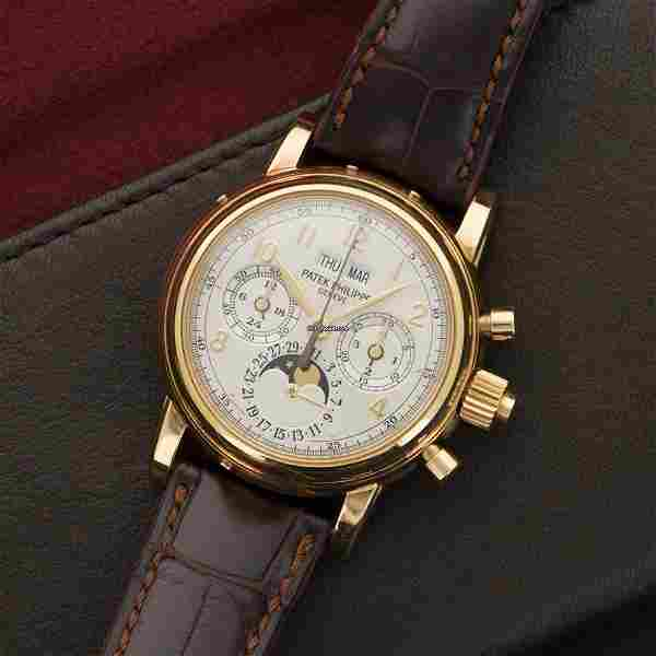 Authentic Patek Philippe Grande Complication Perpetual