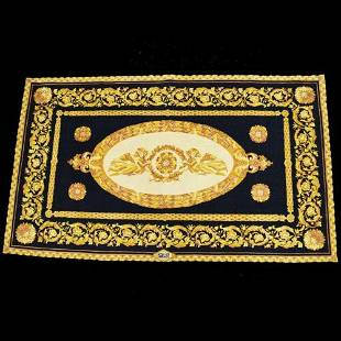 Authentic GIANNI VERSACE Rug Carpet Hand Knotted Wool
