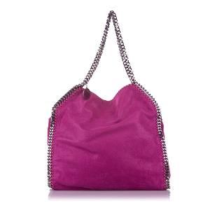 Authentic Stella McCartney Falabella Fold-Over Tote Bag
