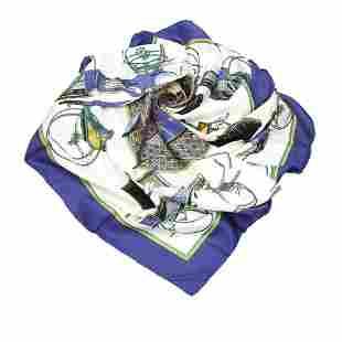 Authentic Hermes Les Voitures a Transformation Silk