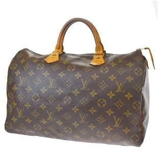 Authentic LOUIS VUITTON Speedy 35 Travel Hand Bag
