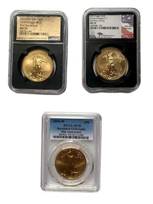 Lot of 3 Elusive Modern Commemorative Coins
