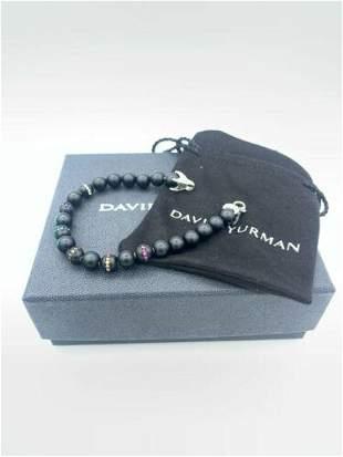 Authentic David Yurman Spiritual Beads Rainbow Bracelet