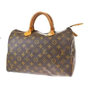 Authentic LOUIS VUITTON Speedy 30 Hand Bag Monogram