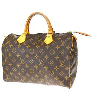 Authentic LOUIS VUITTON Speedy 30 Travel Hand Bag