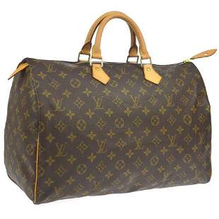 Authentic LOUIS VUITTON SPEEDY 40 HAND BAG PURSE