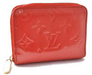 Authentic Louis Vuitton Vernis Zippy Coin Purse Wallet