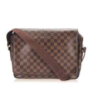 Authentic Louis Vuitton Damier Ebene Shelton MM