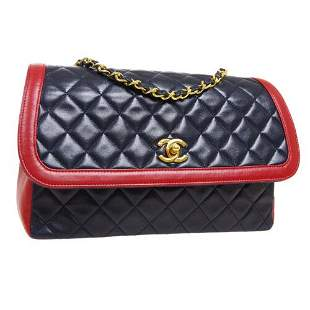 Authentic CHANEL Quilted CC Single Chain Shoulder Bag