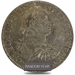 Mexico Spanish Colony 8 Reales Charles III Silver Coin