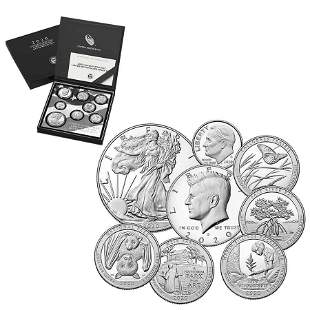 2020 S 2.5 oz US Mint Limited Edition Proof Silver