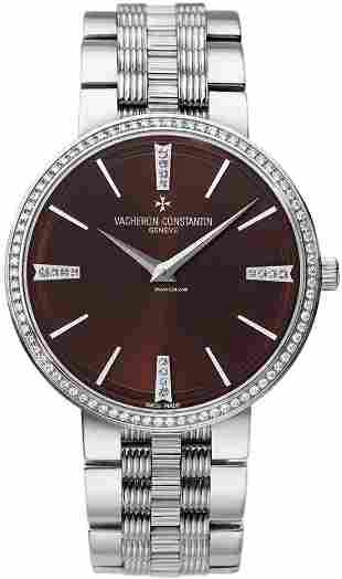 Authentic Vacheron Constantin Traditionnelle Diamond 18