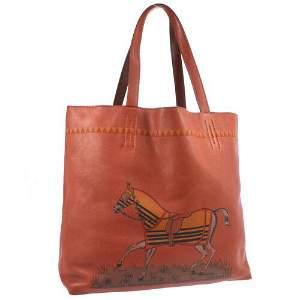 Authentic HERMES Double Sens 36 Reversible Tote Bag