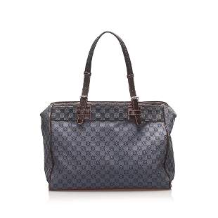 Authentic Loewe Anagram Canvas Shoulder Bag