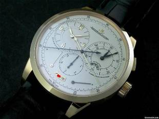 Authentic Jaeger-LeCoultre Duometre a Chronograph