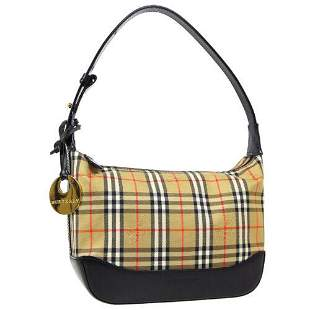 Authentic BURBERRY House Check Hand Bag