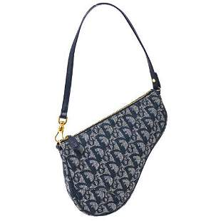 Authentic Christian Dior Trotter Saddle Hand Bag Pouch