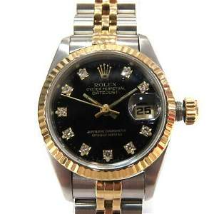 Authentic ROLEX Datejust Ladies AT Stainless Steel
