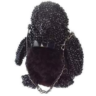 Authentic ANTEPRIMA Rhinestone Penguins Shoulder Bag