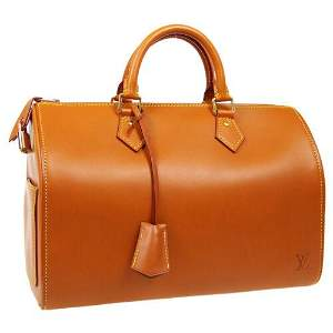Authentic LOUIS VUITTON SPEEDY 30 HAND BAG NOMADE