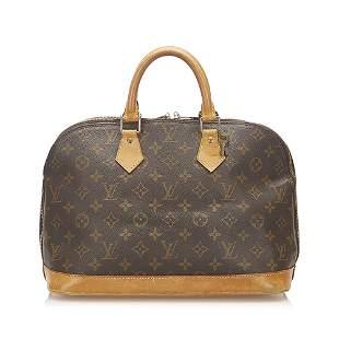 Authentic Louis Vuitton Monogram Alma PM