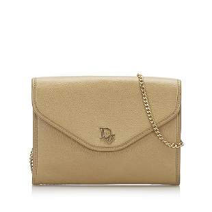 Authentic Dior Leather Crossbody Bag