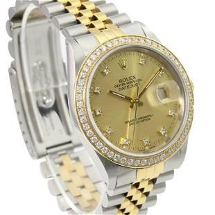 Authentic Rolex Datejust 36mm Jubilee