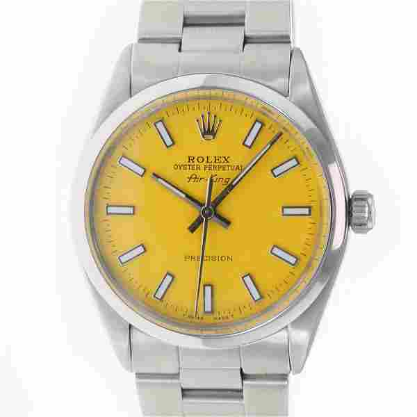 Authentic Rolex Air-King 34mm Oyster Band