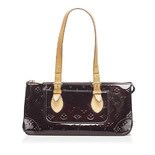 Authentic Louis Vuitton Vernis Rosewood