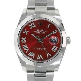 Authentic Rolex Datejust II 41mm Oyster Band