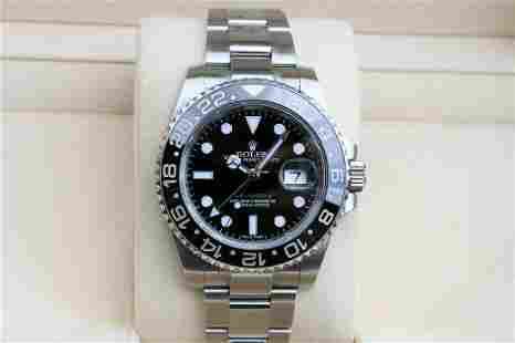 Authentic Rolex GMT-Master II Black Dial Ceramic