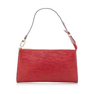 Authentic Louis Vuitton Epi Pochette Accessoires