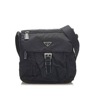 Authentic Prada Tessuto Crossbody Bag