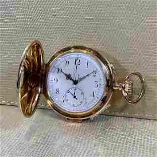 Authentic Invicta Hunter Pocket Watch Quarter Repeater