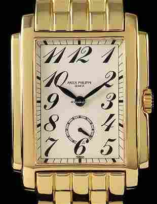 Authentic Patek Philippe Gondolo 18kt Yellow Gold with