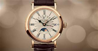Authentic Patek Philippe Grand Complication Perpetual