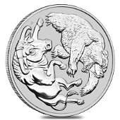 2020 1 Kilo Silver Australian Bull and Bear Coin Perth