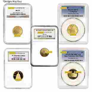 US Mint Gold $5 Commemorative Coin NGC/PCGS MS/PF 70