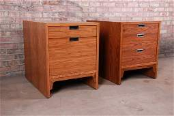 Edward Wormley for Dunbar Rosewood Chests of Drawers or