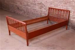 Illums Bolighus Danish Modern Teak Twin Size Bed Circa
