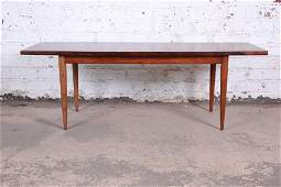Danish Modern Rosewood Coffee Table Newly Refinished
