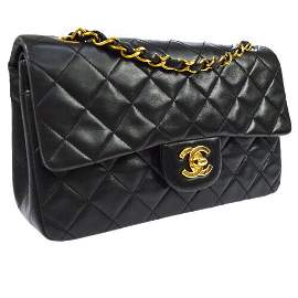 Authentic CHANEL Classic Double Flap Small Chain