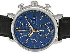 Authentic IWC Portofino Chronograph IW391036 Automatic