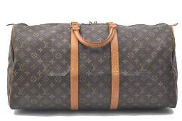 Authentic Authentic Louis Vuitton Monogram Keepall 55